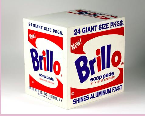 Andy Warhol - Brillo Boxes (1964)